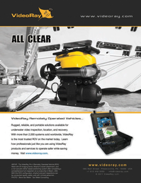 Marine Technology Magazine, page 2nd Cover,  May 2012