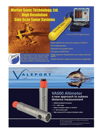 Marine Technology Magazine, page 21,  May 2012