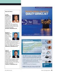 Marine Technology Magazine, page 29,  May 2012 Bob McDonnell