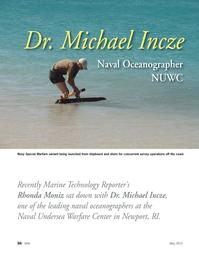 Marine Technology Magazine, page 36,  May 2012 Michael Incze