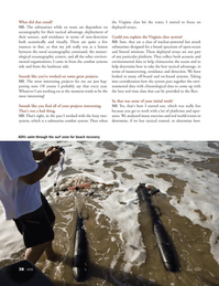 Marine Technology Magazine, page 38,  May 2012 Virginia