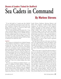 Marine Technology Magazine, page 47,  May 2012 Virginia