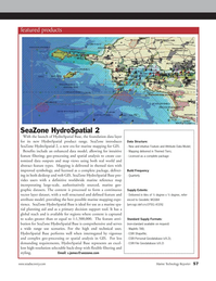 Marine Technology Magazine, page 57,  May 2012 vigorous and complex geo-processing