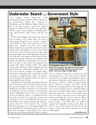 Marine Technology Magazine, page 59,  May 2012 North Carolina