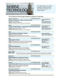 Marine Technology Magazine, page 60,  May 2012