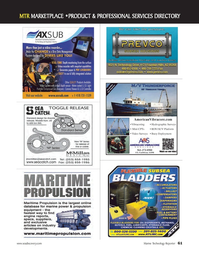 Marine Technology Magazine, page 61,  May 2012 Caribbean