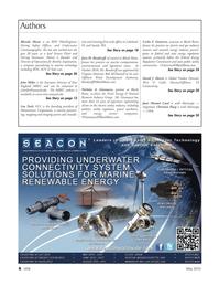 Marine Technology Magazine, page 6,  May 2012 Bob McDonnell