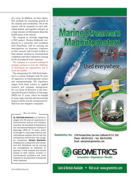 Marine Technology Magazine, page 11,  Jun 2012 Kirsten Redmond