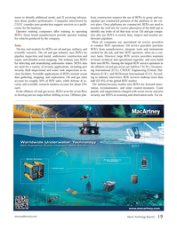 Marine Technology Magazine, page 19,  Jun 2012 oil service providers