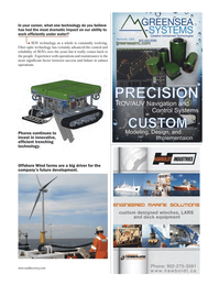 Marine Technology Magazine, page 31,  Jun 2012 One technology