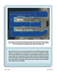 Marine Technology Magazine, page 34,  Jun 2012 Port of Seattle