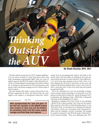 Marine Technology Magazine, page 44,  Jun 2012 Explorer