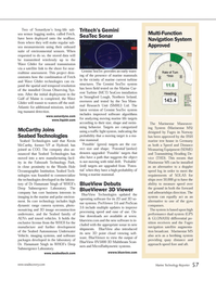 Marine Technology Magazine, page 57,  Jun 2012 improved software algorithms
