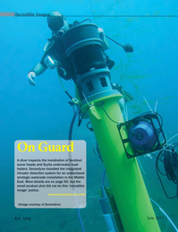 Marine Technology Magazine, page 64,  Jun 2012 Sentinel