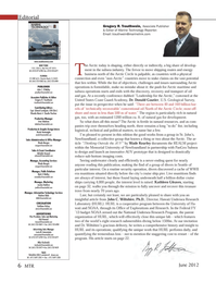 Marine Technology Magazine, page 6,  Jun 2012 Michelle Howard mhoward