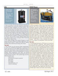 Marine Technology Magazine, page 12,  Jul 2012
