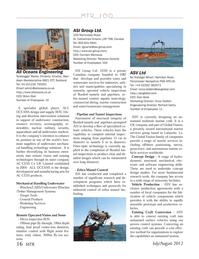 Marine Technology Magazine, page 16,  Jul 2012 6a Trafalgar Wharf