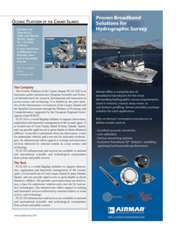 Marine Technology Magazine, page 21,  Jul 2012