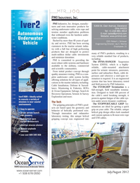 Marine Technology Magazine, page 24,  Jul 2012