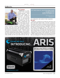 Marine Technology Magazine, page 31,  Jul 2012