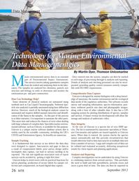 Marine Technology Magazine, page 26,  Sep 2012 Martin Dyer