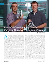 Marine Technology Magazine, page 34,  Sep 2012 Marine Institute