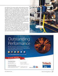 Marine Technology Magazine, page 37,  Sep 2012 Atlantic Canada Opportunities Agency
