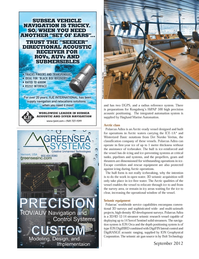 Marine Technology Magazine, page 40,  Sep 2012 ION Geophysical Corporation