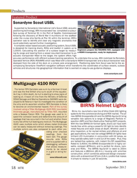 Marine Technology Magazine, page 58,  Sep 2012 Ministry of Defense DE&S Salvage