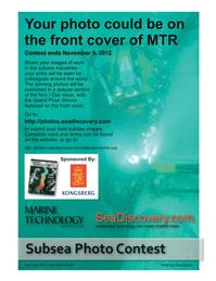Marine Technology Magazine, page 59,  Sep 2012