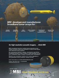Marine Technology Magazine, page 4th Cover,  Sep 2012