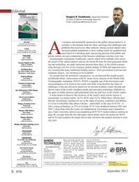 Marine Technology Magazine, page 6,  Sep 2012 Edward Lundquist