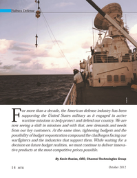 Marine Technology Magazine, page 14,  Oct 2012 United States military