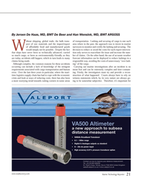 Marine Technology Magazine, page 21,  Oct 2012 cargo transportation