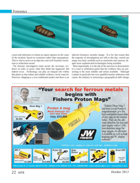 Marine Technology Magazine, page 22,  Oct 2012
