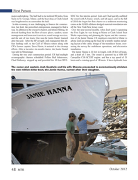 Marine Technology Magazine, page 48,  Oct 2012 Mississippi