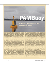 Marine Technology Magazine, page 59,  Oct 2012 Cormac Booth