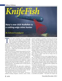 Marine Technology Magazine, page 8,  Nov 2012