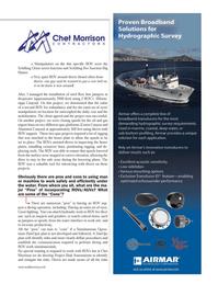 Marine Technology Magazine, page 13,  Nov 2012