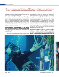 Marine Technology Magazine, page 14,  Nov 2012 clear communications