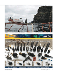 Marine Technology Magazine, page 17,  Nov 2012
