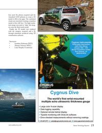 Marine Technology Magazine, page 19,  Nov 2012 Jonathan Robinson