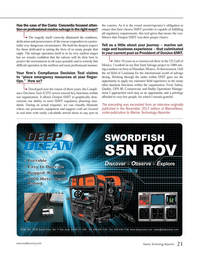 Marine Technology Magazine, page 21,  Nov 2012 Gulf of Mexico