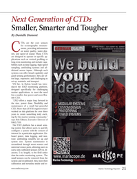 Marine Technology Magazine, page 25,  Nov 2012 marine applications