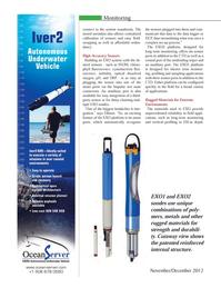 Marine Technology Magazine, page 26,  Nov 2012 EXO platform