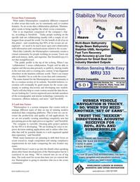 Marine Technology Magazine, page 35,  Nov 2012 Marinexplore ocean