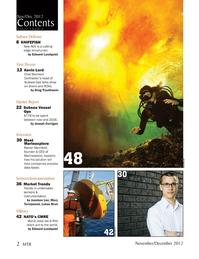 Marine Technology Magazine, page 2,  Nov 2012