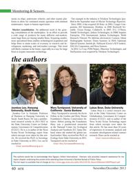 Marine Technology Magazine, page 40,  Nov 2012 California
