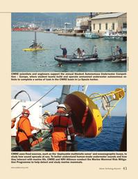 Marine Technology Magazine, page 43,  Nov 2012 La Spezia harbor