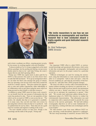 Marine Technology Magazine, page 44,  Nov 2012 Andy Pickup
